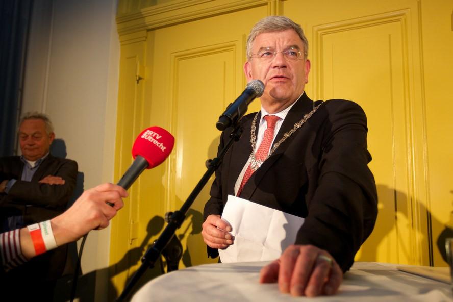 Lezing burgemeester Jan van Zanen