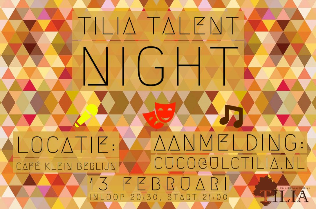 Tilia Talent Night