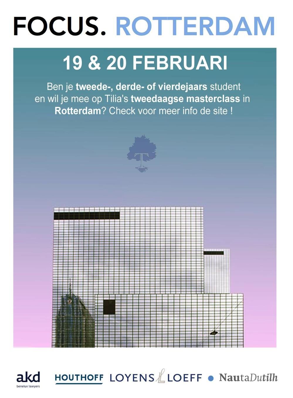 FOCUS. Rotterdam 2020