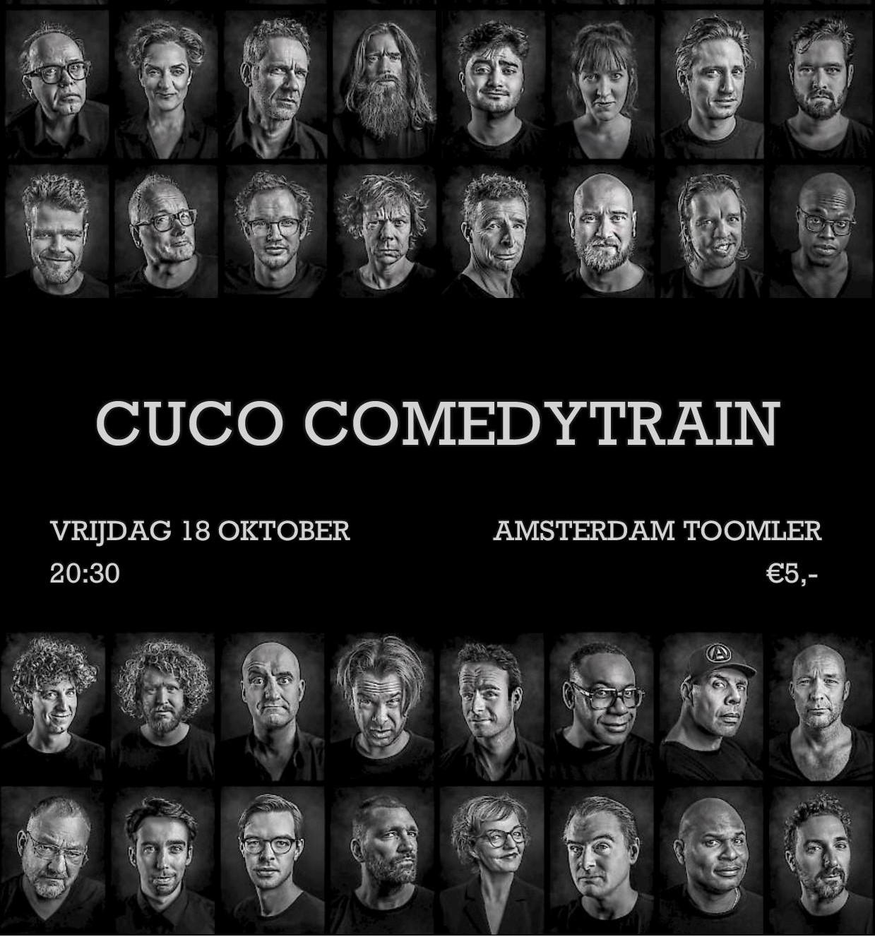 Comedytrain met CuCo!