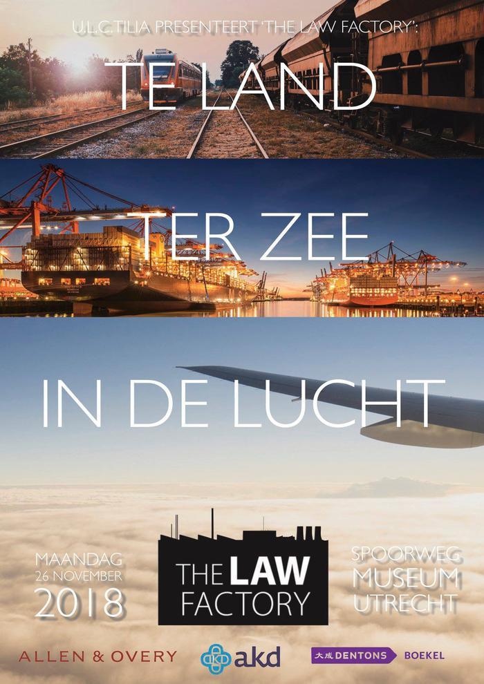 The Law Factory 2019: inhoudelijke ronde