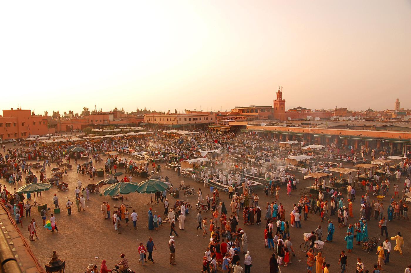 Ouderejaarsreis Marokko